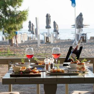 25 Thalassa Blue Mediterranean Sea Side Restaurant