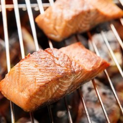 SALMON FILLET ΟΝ GRILL